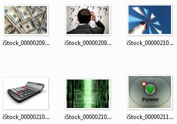 Miniaturas de fotografias no Explorer também são dados EXIF