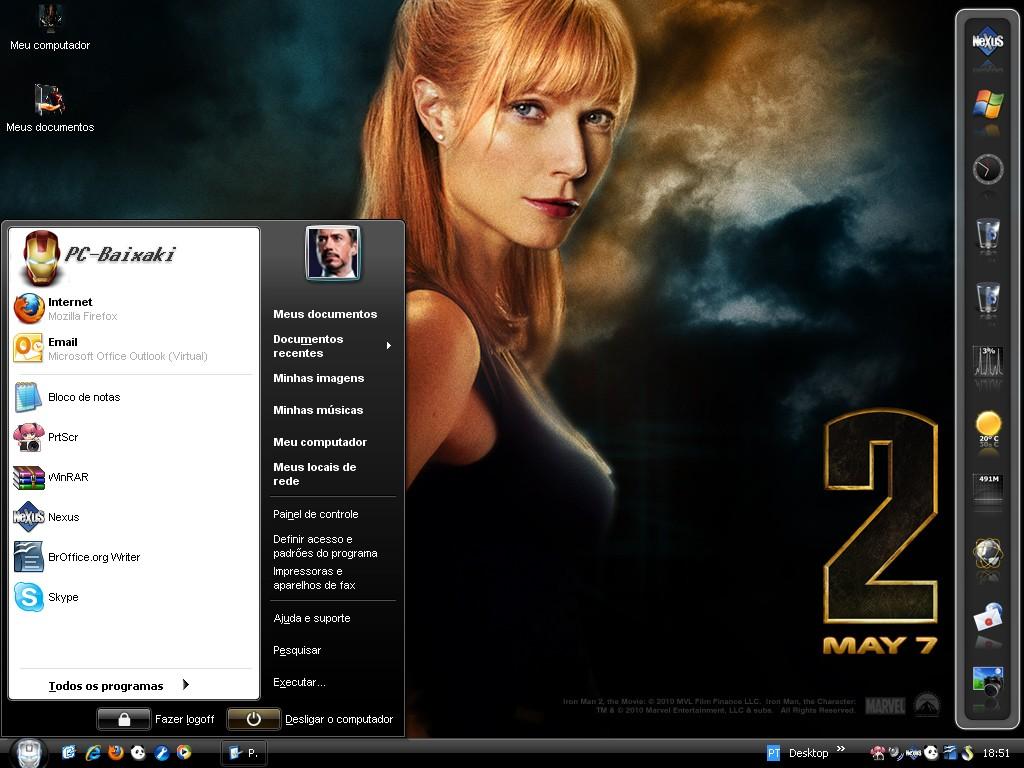 Windows XP modificado