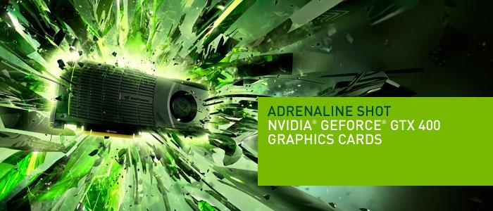 Ainda não foi anunciado se o Verde funcionará com placas GeForce GTX400
