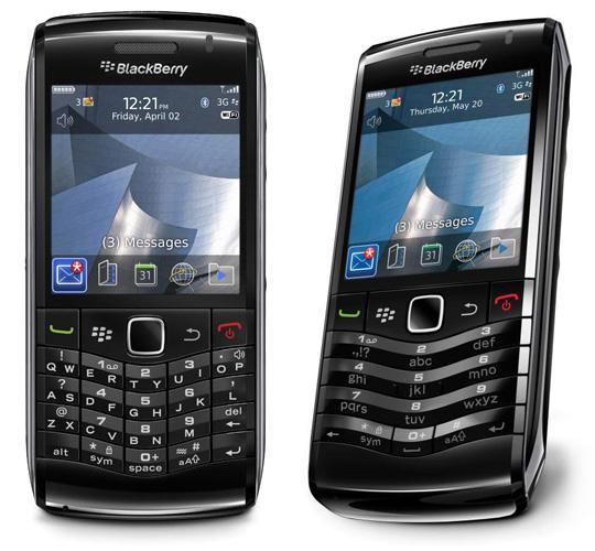 Os dois modelos do novo Blackberry Pearl 3G