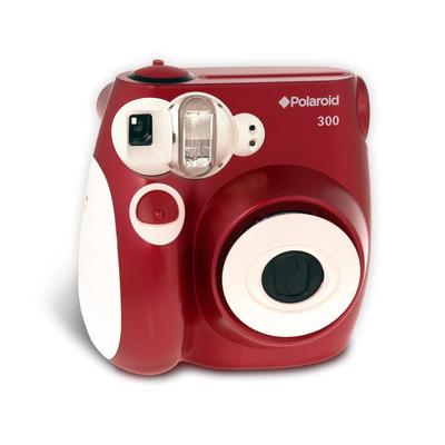 Polaroid Pic-300 na cor vermelha