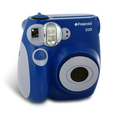 Polaroid Pic-300 na cor azul