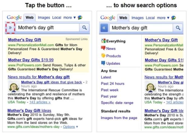 Novo Google para celulares