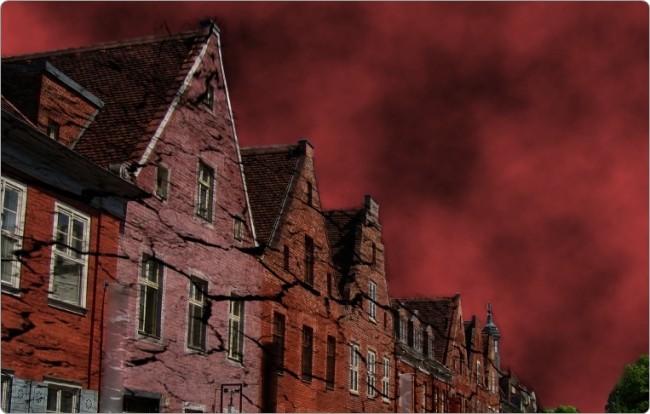 As casas devem ficar assim.