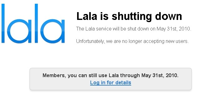 Descanse em paz, Lala.