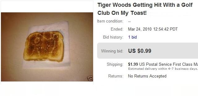 Se ao menos tivesse alguma semelhança com o Tiger Woods valia os 99 centavos