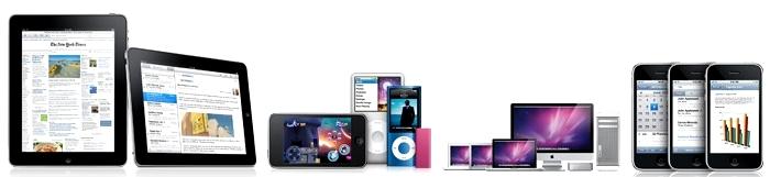 Produtos com variantes do MAC OS