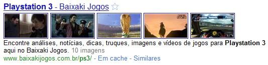 Sites com imagens