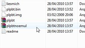 Grave este arquivo no CD