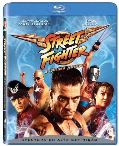 Street Fighter: é jogo, é filme, é Blu-ray.