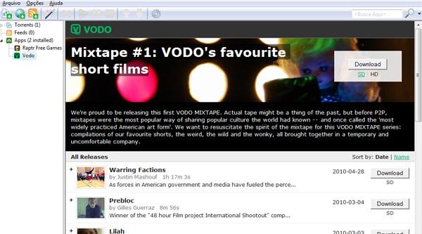 VODO promete vídeos e conteúdo diferenciado para os usuários