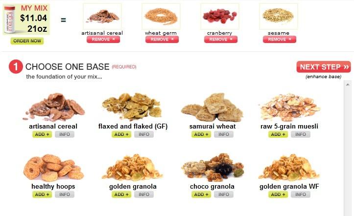 Escolha os ingredientes