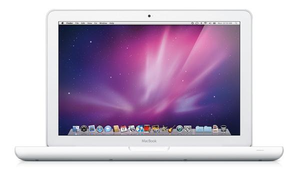 MacBook White com bateria de maior duração