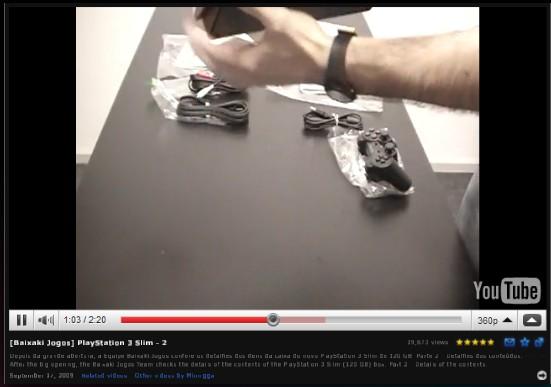 Vídeos direto na interface