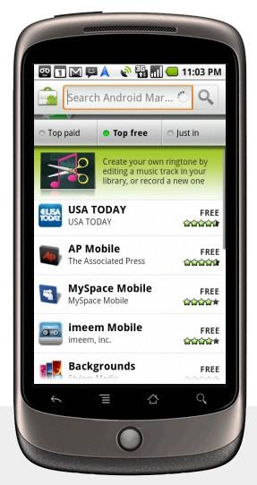 Nexus One - Reprodução: Google
