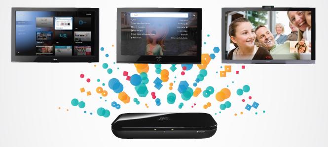 A Logitech é uma das grandes parceiras da Google TV.