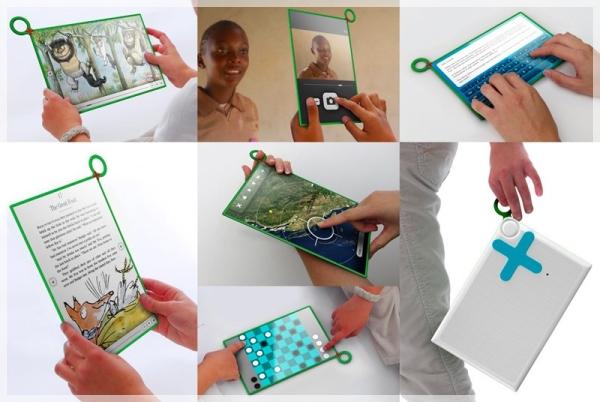 Novo tablet com várias tarefas.