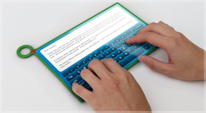 Novo tablet acompanha tendências.