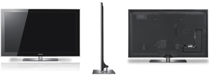 O modelo PN58B860, da Samsung, com extensa plataforma de conectividade.