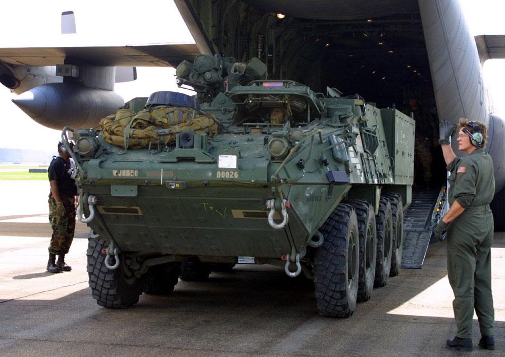 Stryker, o Batmóvel do exército.