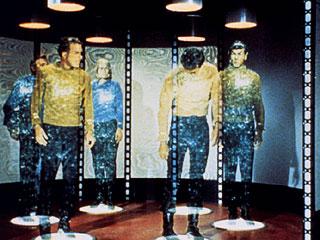 A máquina de teletransporte da Enterprise