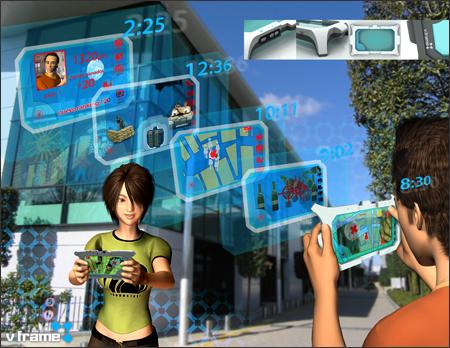 V.frame: jogo com realidade aumentada