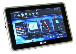 Wind Pad, tablet da MSI