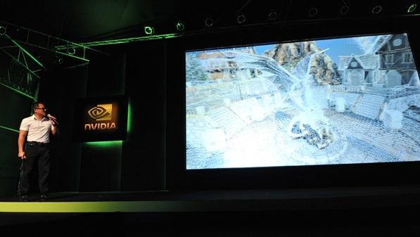 Exibição do 3D PC durante a Computex 2010.
