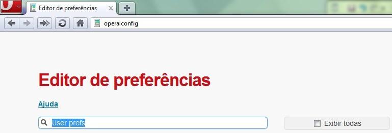 Busque por User Prefs.
