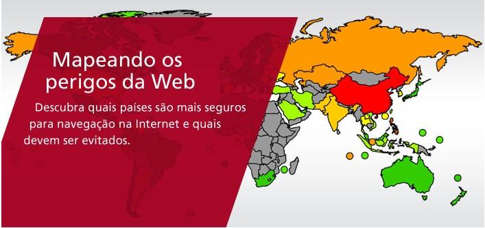 Mapeando os perigos da web