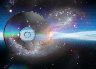 O universo dentro de um disco - ou quase...