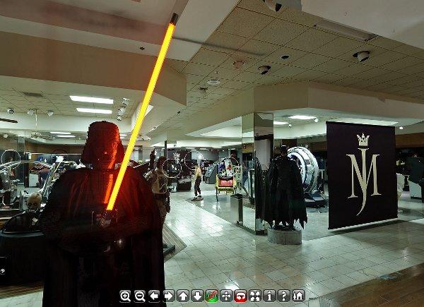 Peças da coleção do Rei do Pop: Darth Vader e Batman