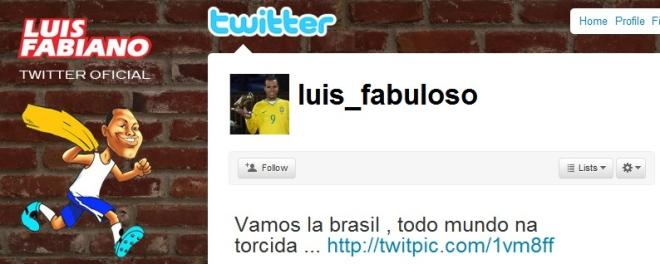 Luis Fabiano também está nessa!