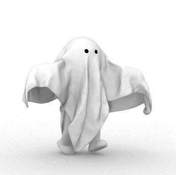 Fantasmas por perto?