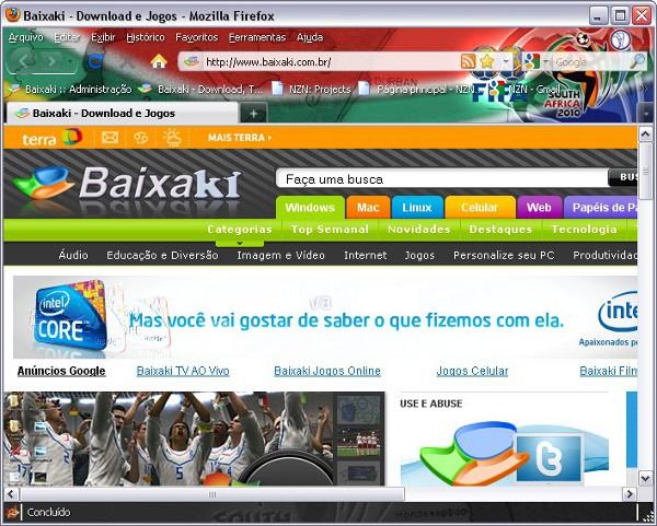 Tema para Mozilla Firefox