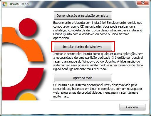 Instale o sistema gratuito diretamente no Windows