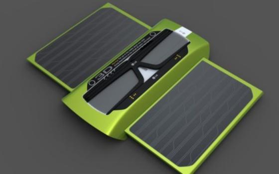 Conceito de celular 3D ecológico da LG