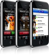 Skype no atual iPhone 3