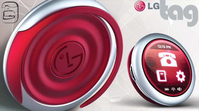 LG Tag: celular conceitual em que a simplicidade reina 39888