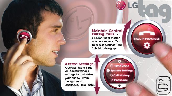 LG Tag: celular conceitual em que a simplicidade reina 46772