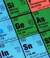 O Germânio na tabela periódica.