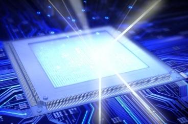 O laser poderá substituir os processadores atuais? Arte de  Christine Daniloff.