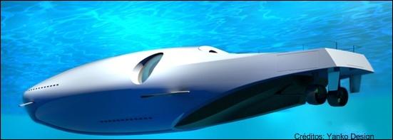 Sob as águas: visão geral do U-101