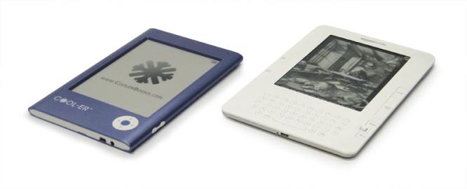 COOL-ER e Kindle lado a lado