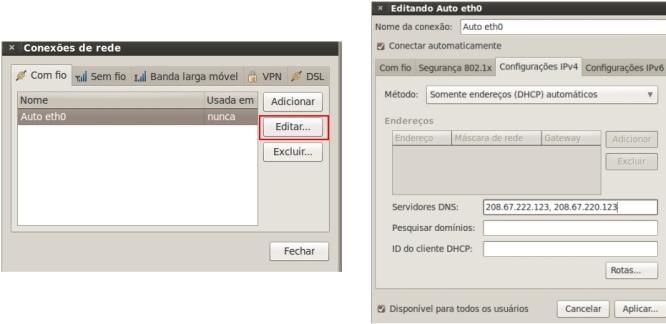 Configurando o Ubuntu