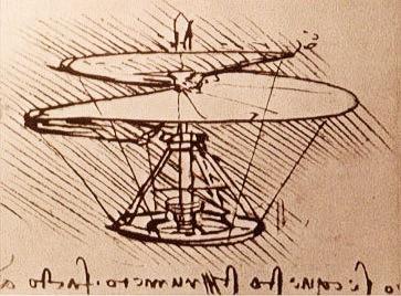Helicóptero de da Vinci