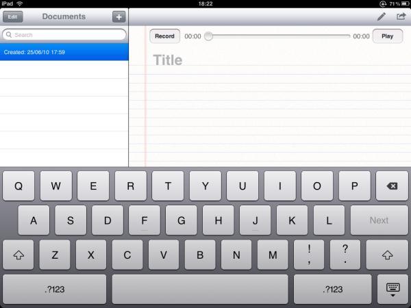 Nem mesmo o teclado do iPad escapou