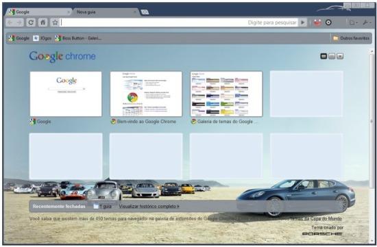 Porsche para Google Chrome