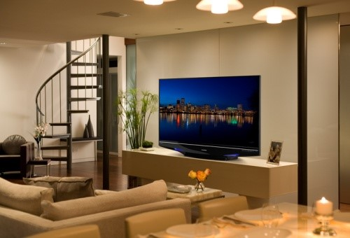 Sua sala suporta um TV tão grande?