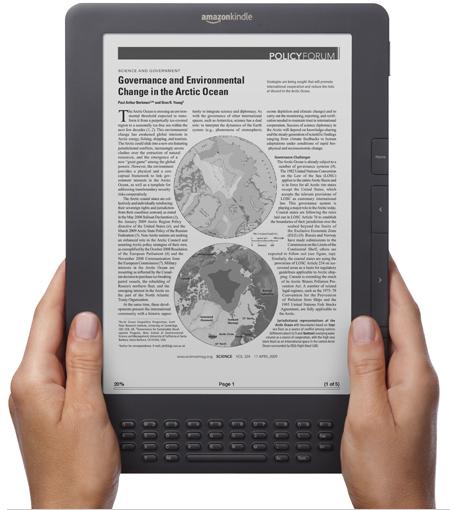 Novo KindleDX